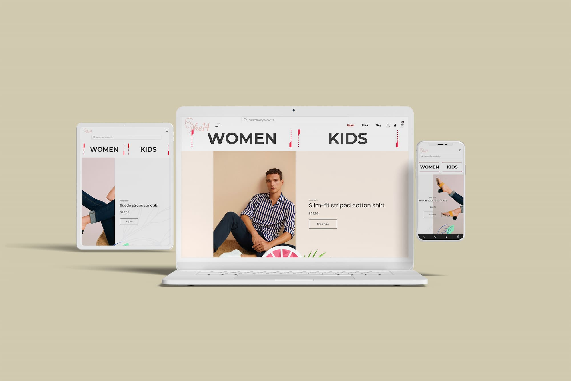 Ecommerce Weebsite for fashion in Kasaragod